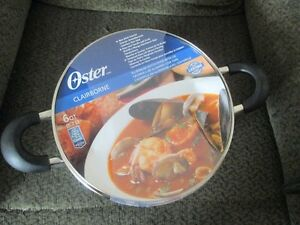 Oster Set of Pots and Pans    Never Out Of Packaging