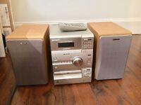 Sony Stereo with CD and Tape and FM/AM Radio