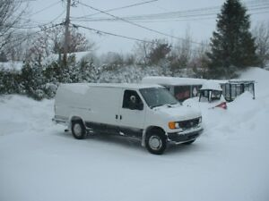 2007 Ford E-350 extra longue Fourgonnette, fourgon