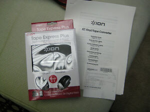 ION Tape Express Plus cassette to digital player/converter Campbell River Comox Valley Area image 1