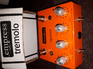Empress tremelo pedal  - reduced !