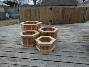 Cedar Planter Boxes Homemade
