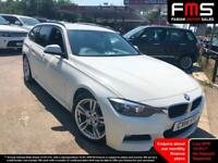 2014 BMW 318 2.0TD ( 143bhp ) ( s/s ) Touring d M Sport in white