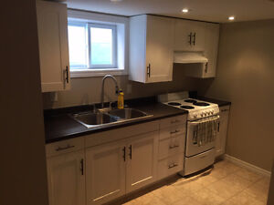 Newly Renovated 1 Bedroom Basement Apartment - $825 inclusive
