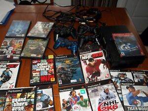 ps2 with games Cambridge Kitchener Area image 10
