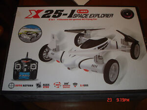 X25-1 2.4 Ghz Space Explorer 2 in 1 air/ground RC flying car Sarnia Sarnia Area image 1