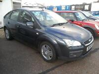 2006 FORD FOCUS 1.8 TDCI GHIA108K FSH in Grey Diesel 5Dr Full Mot VGC