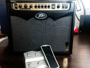 Peavy Vypyr 60 Tube AMP with Sanpera 1 Pedal