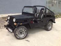 MAHINDRA CHEIF CJ9 JEEP MANUAL DIESEL 4X4 BLACK