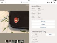 Arsenal laptop bag