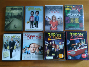 8 TV Seasons On DVD $15