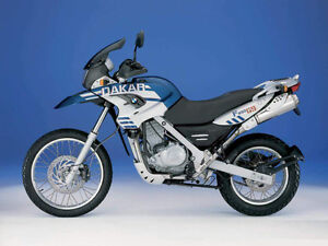 Low mileage BMW F650 Dakar