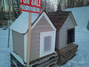 Absolutely brand new doghouses