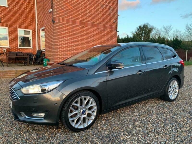 Crazy Spec 2016 16 Ford Focus 2 0 150 Sel Estate Anium X Nav 1 Owner