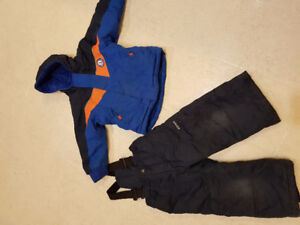 Child's winter coat and snow pants size 3