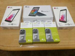 Selling Lg pads Tablets and Lg 360 cams