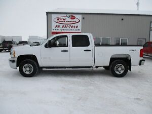 2008 Chevrolet Silverado 2500HD Crew Cab Short Box 4x4