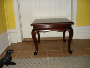 Gibbard Solid Mahogany End/Side Tables