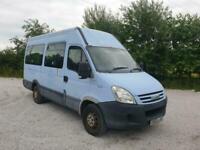 Iveco Daily 35S12 MWB 14 SEATS NO VAT EX SCHOOL MINI BUS ONE OWNER LOW MILES 52K