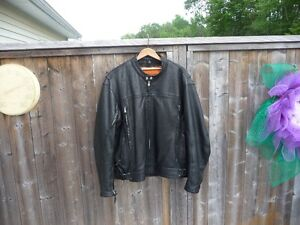 For Sale:  Men's Leather Motorcycle Jacket