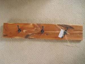 Red Cedar Coat Rack
