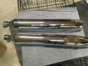 2015 Street Glide Special - New Chrome stock pipes (2 sets)