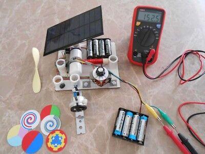 Experimentation Kit - DIY SIMPLE MOTOR FULL EXPERIMENTATION KIT #10 RPM MEASUREMENT GENERATOR SOLAR