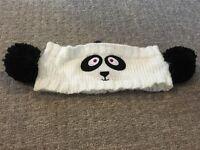 Panda head warmer