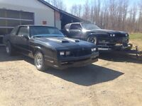 1986 and 1987 Monty Carlo SS is