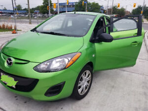 2011 Mazda 2 (4winter & 4summer tires)  Amazing on Gas!!
