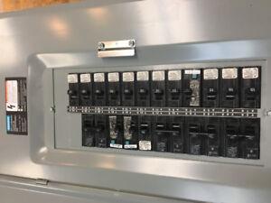 Panneaux électriques, Thermostats, prisr GFI.