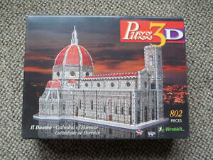 "WREBBIT-3D puzzle ""CATHEDRAL OF FLORENCE"" 802 pieces London Ontario image 1"