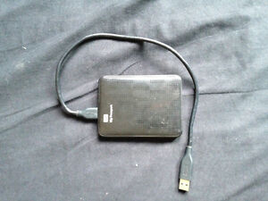 500 gigabyte WD portable HDD