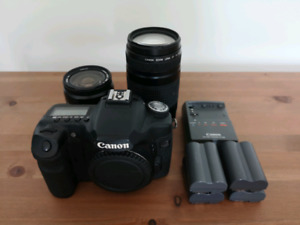 Canon EOS 50D, 28-80mm f/3.5-5.6, 75-300mm f/4-5.6