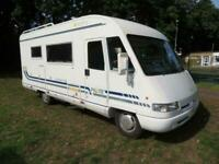 Pilote Galaxy 780 5 Berth 5 Belts Drop Down Bed Motorhome For Sale