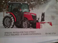 SNOW REMOVAL, WEST RIVERVIEW, NB