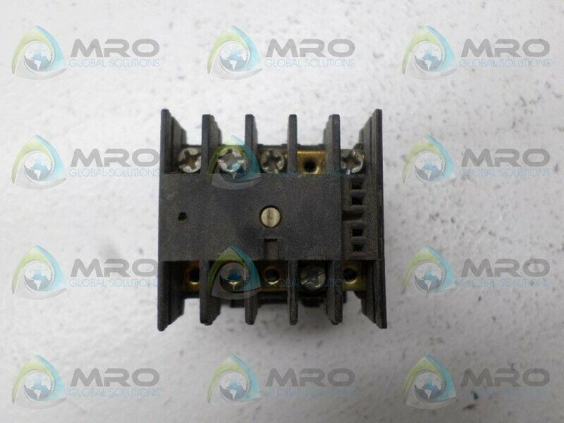 LOVATO MC9 CONTACTOR 22/24V *USED*