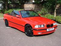 EXCELLENT EXAMPLE!! 1996 BMW 3 SERIES 2.8 328i 2dr CONVERTIBLE, FULL LEATHER