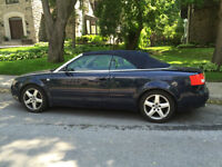 2003 Audi A4 Blue Convertible