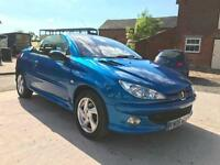 2005 Peugeot 206 CC * Cheap Convertible Car * Long MOT *