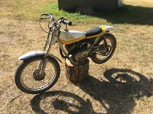 Ty 80 vintage kids trials bike