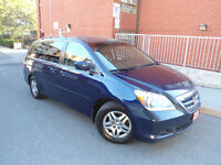 2005 HONDA ODYSSEY EX-L ,8 PASS, DVD PLAYER ,LEATHER ,SUNROOF!!!