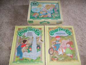 3 Vintage HC Cabbage Patch Kid books (and puzzle) London Ontario image 1