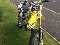 450 Rmz. Fuel injection