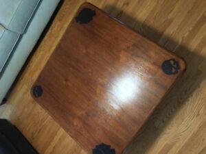 Harley Davidson coffee table custom