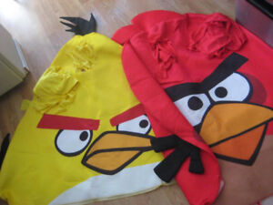 Pair of Angry Birds Costumes!