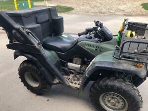 Trade 2003 Honda 350 Fourtrax ES for a vehicle for my son