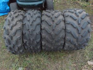 Polaris by Carlisle PXT AT26x11 R14 ATV Tires 95% Tread Like New