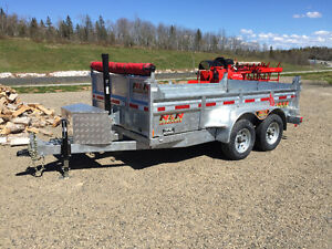 Blow out on last remaining 2016 Hot Dipped Galvanized Trailers