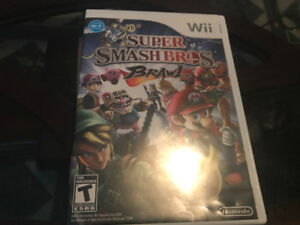Super smash bro's brawl Wii